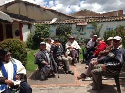 Adultos mayores, Hogares La Candelaria, Tenjo