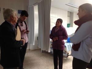Visita en Centro Médico San Camilo