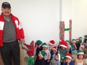 Entrega regalos Navidad 2016