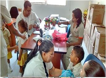 Atencion en Cartagena - Beneficiario Fund. Granitos de Paz